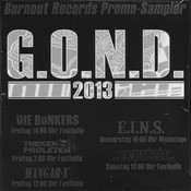 G.O.N.D. Sampler (Burnout Records)